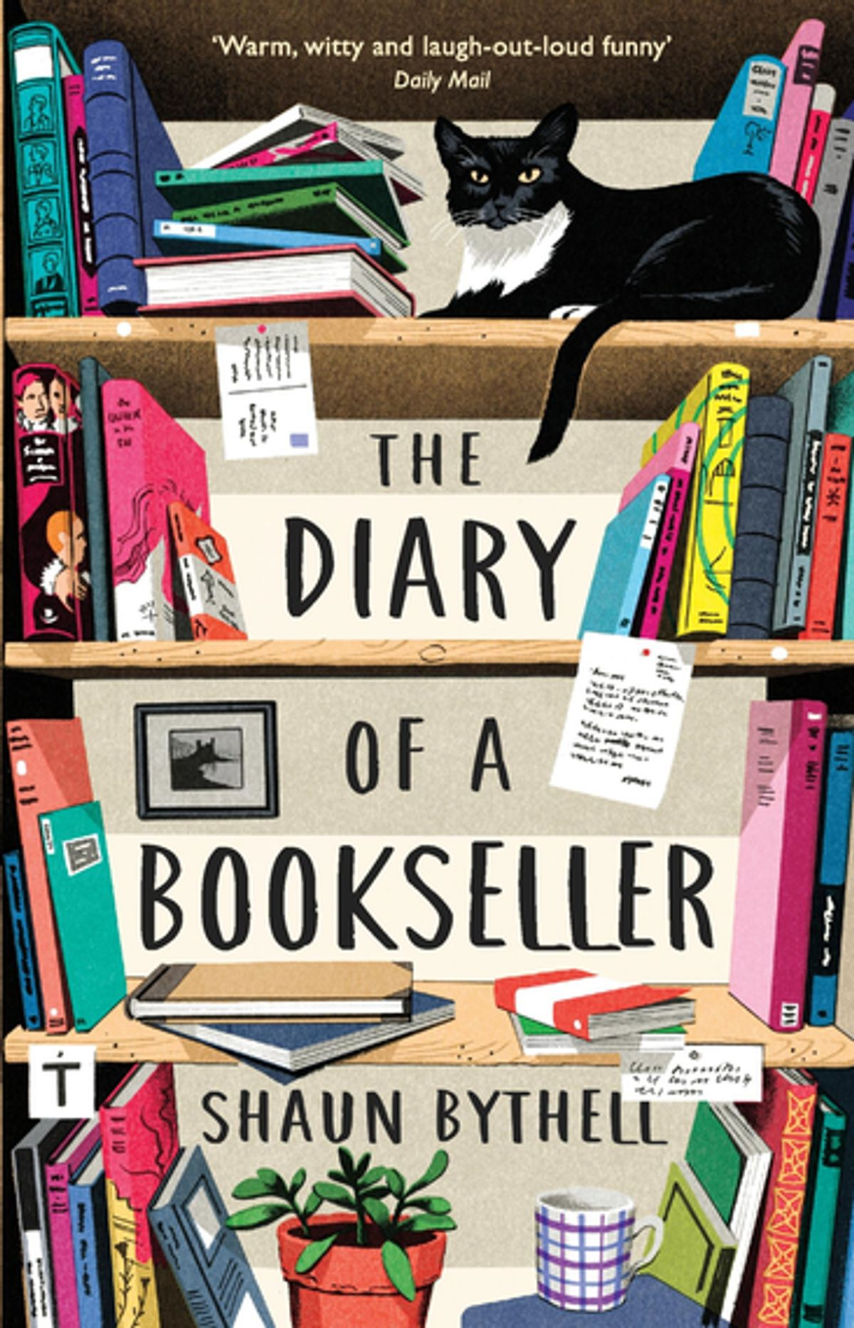 <strong>The Diary of a Bookseller</strong> Book Cover