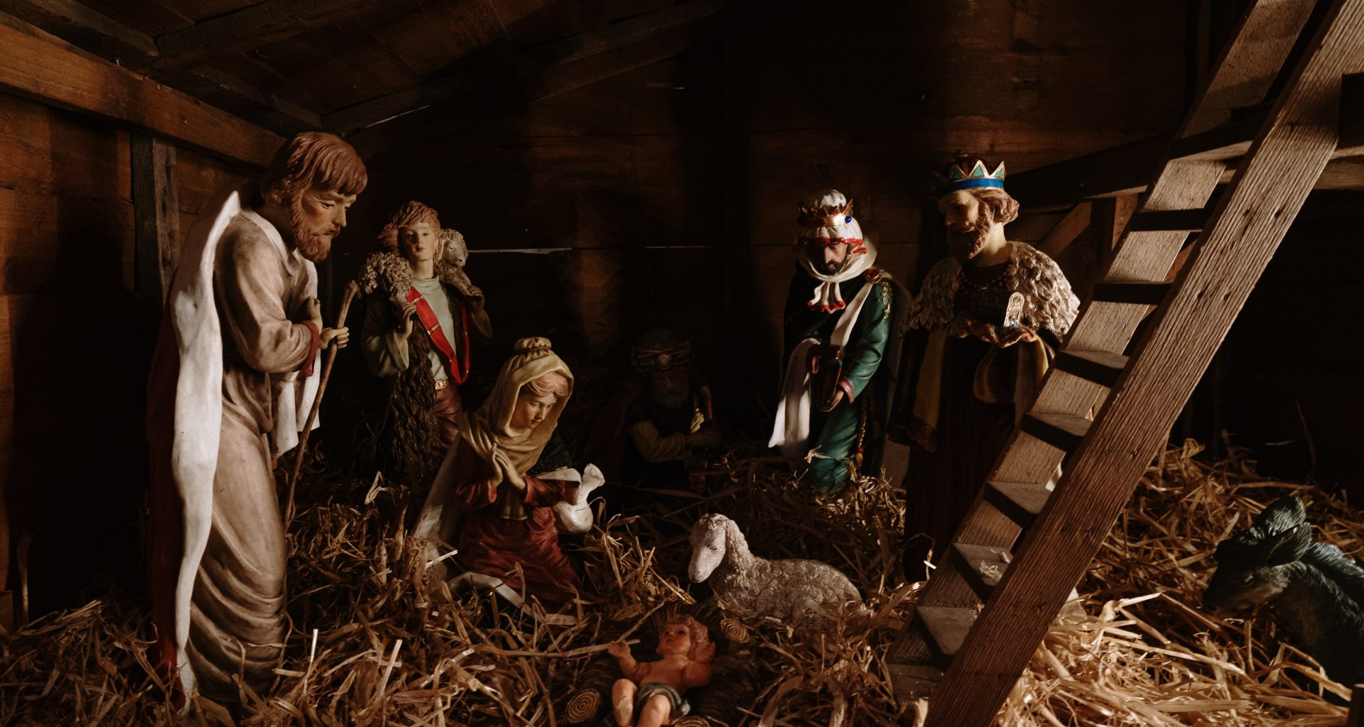 The Nativity figurines